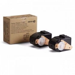 Fuji Xerox 106R02620 Cyan Toner Cartridge Twin Pack Yield