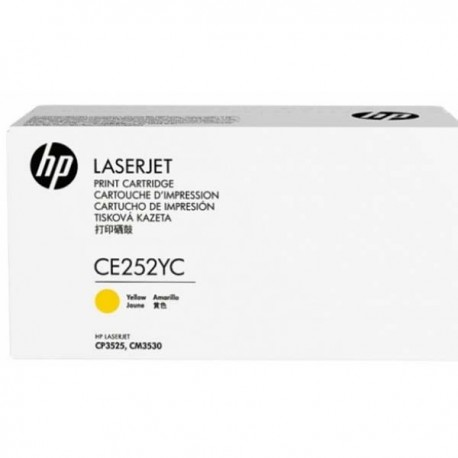 HP CE252YC Yellow High Yield Contract Toner (504A)