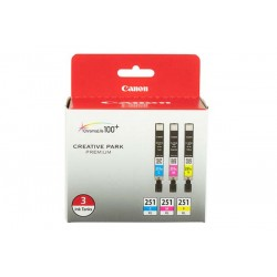 Canon CLI-251 XL 3 Color Ink Pack