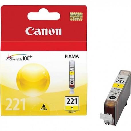 Canon CLI-221Y Yellow Ink Cartridge