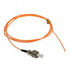 Netviel Pigtail Fiber Optic Multimode 50/125um Simplex ST 1/2 m (NVL-PTMM2-ST-0X)