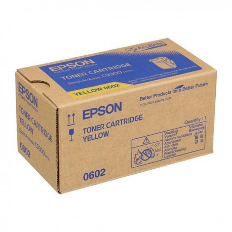 Epson C13S050602 Yellow Toner Cartridge