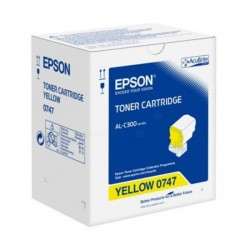 Epson C13S050747 Yellow Toner Cartridge For AL-C300N