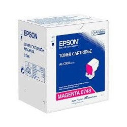 Epson C13S050748 Magenta Toner Cartridge For AL-C300N
