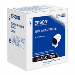 Epson C13S050750 Black Toner Cartridge For AL-C300N