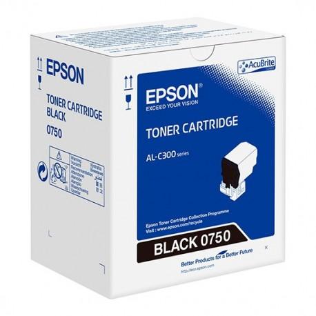 Epson C13S050750 Black Toner Cartridge For AL-C300N