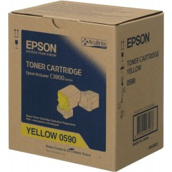 Epson C13S050590 Yellow Toner Cartridge For CX37DN