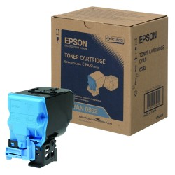 Epson C13S050592 Cyan Toner Cartridge For CX37DN