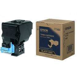 Epson C13S050593 Black Toner Cartridge For CX37DN