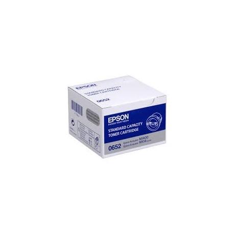 Epson Black Toner Cartridge Standard Capacity (C13S050652)