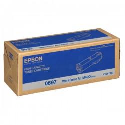 Epson Black Toner Cartridge High Capacity For AL-M400DN (C13S050697)