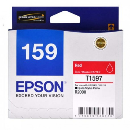 Epson C13T159790 Red Ink Cartridge