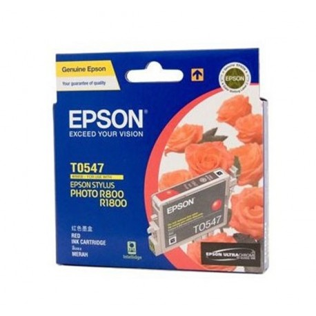 Epson C13T054790 Red Ink Cartridge SP-R800
