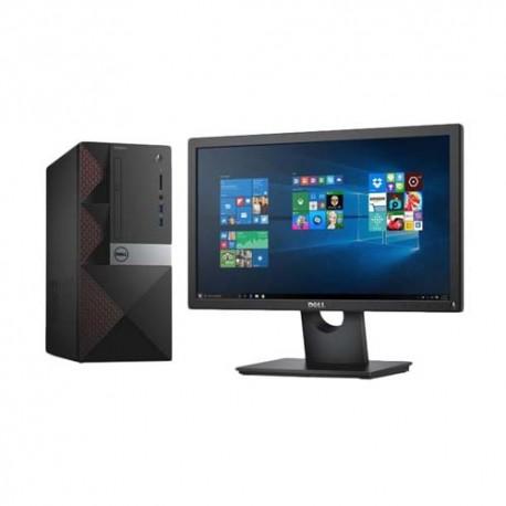 Dell Vostro 3670 Core i3-8100 4GB 1TB VGA Onboard 19,5 Inch Linux Ubuntu PC Desktop