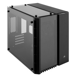Corsair Crystal Series 280X Tempered Glass Micro ATX PC Case (CC-9011134-WW / Black)