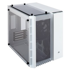 Corsair Crystal Series 280X Tempered Glass Micro ATX PC Case (CC-9011136-WW / White)