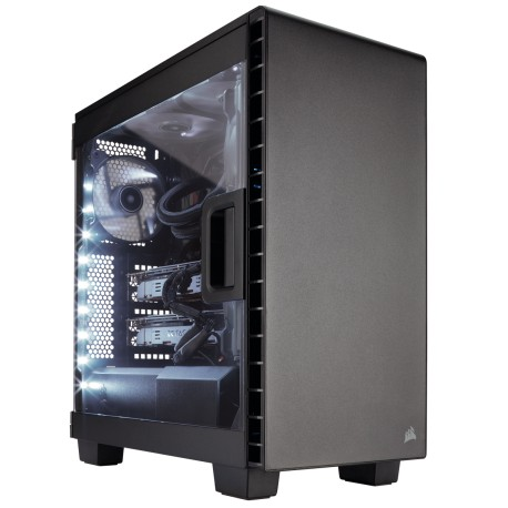 Corsair Carbide Series Clear 400C Compact Mid-Tower Case (CC-9011081-WW / Black)