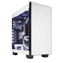 Corsair Carbide Series Clear 400C Compact Mid-Tower Case White (CC-9011095-WW / White)