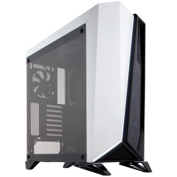 Corsair Carbide Series SPEC-OMEGA Tempered Glass Mid-Tower ATX Gaming Case White (CC-9011119-WW / White)