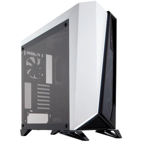 Corsair Carbide Series SPEC-OMEGA Tempered Glass Mid-Tower ATX Gaming Case White (CC-9011119-WW / White)