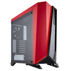 Corsair Carbide Series SPEC-OMEGA Tempered Glass Mid-Tower ATX Gaming Case Red (CC-9011120-WW / Red)