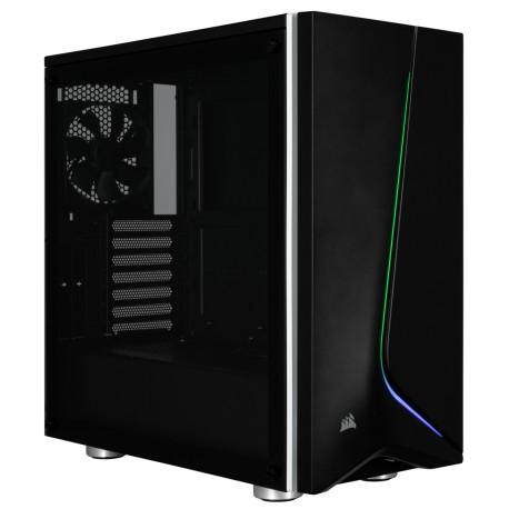 Corsair Carbide SPEC-06 RGB Tempered Glass Case Black (CC‐9011146‐WW / Black)