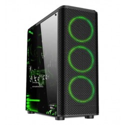 Aigo JESM Dream MX400 Black Mid Tower ATX Transparent Windowed Case