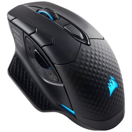 Corsair DARK CORE RGB SE Performance Wired / Wireless Gaming Mouse with Qi Wireless Charging (CH-9315111-AP / Black)
