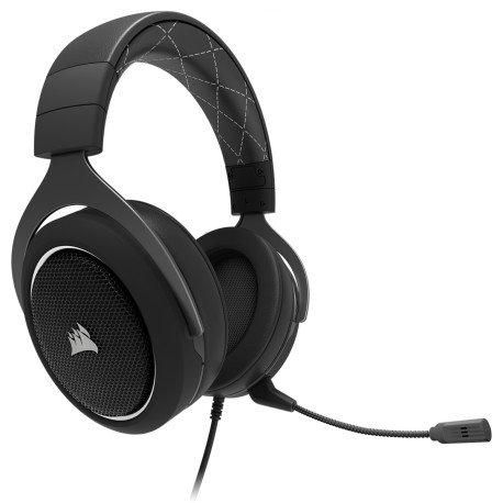 Corsair HS60 SURROUND Gaming Headset White (CA-9011174-NA)