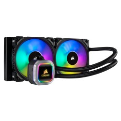 Corsair Hydro Series H100i RGB PLATINUM 240mm Liquid CPU Cooler (CW-9060039-WW)