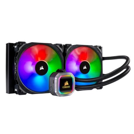 Corsair Hydro Series H115i RGB PLATINUM 280mm Liquid CPU Cooler (CW-9060038-WW)