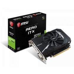 MSI GeForce GTX 1050 AERO ITX 2GB GDDR5 128Bit OC Graphics Card