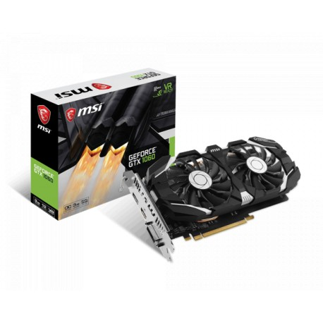 MSI GeForce GTX 1060 3GB DDR5 192-bit Graphics Card (3GT OC V2)