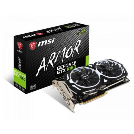 MSI GeForce GTX 1060 6GB DDR5 192 Bit Armor (6G OC V1)