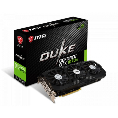MSI GeForce GTX 1070 Ti DUKE 8GB DDR5 256 Bit Graphics Card