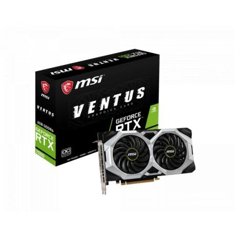 MSI GeForce RTX 2060 6GB DDR6 192 Bit Ventus 6G OC Graphics Card