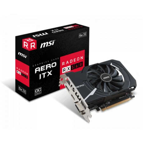 MSI Radeon RX 560 4GB DDR5 128 Bit AERO ITX 4G OC Graphics Card