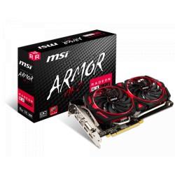 MSI Radeon RX 570 8GB DDR5 256Bit Armor MK2 8G OC Graphics Card