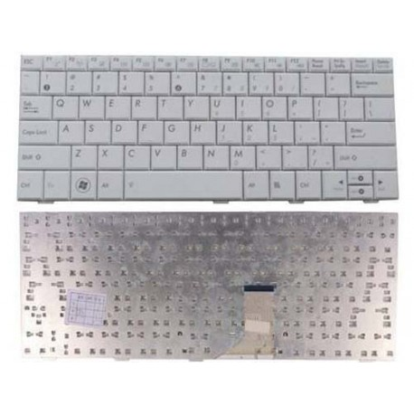 Asus EPC Eee PC SeaShell 1005HA 1005HAB 1008HA 1001HA Putih Keyboard Laptop