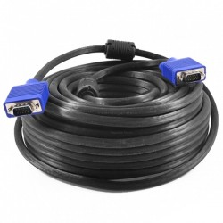 Netline Gold Plated VGA Cable Male-Male 20 Meter