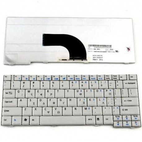 Acer Aspire 2920 2420 Series Keyboard Laptop Putih