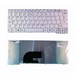 Acer Aspire One ZG5 ZA8 A110 D150 D250 531 D250 Putih Keyboard Laptop