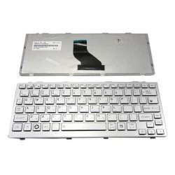 Toshiba Mini NB200 NB201 NB205 NB300 NB305 NB500 NB520 Series Silver Keyboard Laptop