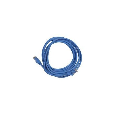 Schneider Electric Category 5e, Patch Cord, UTP, 3M, Blue (DCEPCURJ03BLM)