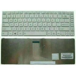 Toshiba Satellite M800 M805 L800 L805 L830 L840 C800 C800D C805 C840 Series Putih Keyboard Laptop