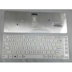 Toshiba Satellite C40 C40A C45 C40D C40t C45t L40A Series Putih Keyboard Laptop