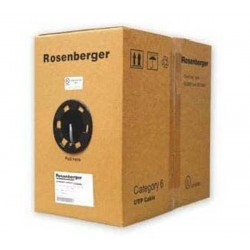 Rosenberger CP11-141-12S UTP Cable Cat 6 Grey