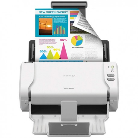 Brother ADS-2200 35ppm 2-sided Document Scanner A4