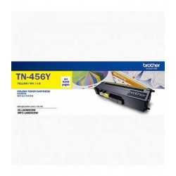 Brother TN-456Y Toner Cartridge Yellow Yellow  , Yield 6500 pages (A4, 5%)