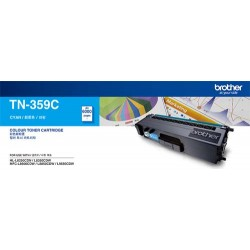 Brother TN-359C Toner Cartridge Magenta, Yield 6000 pages (A4, 5%)